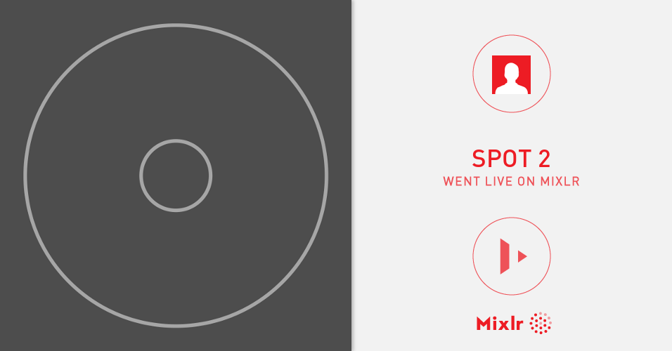 spot 2 is on Mixlr  Mixlr is a simple way to share live