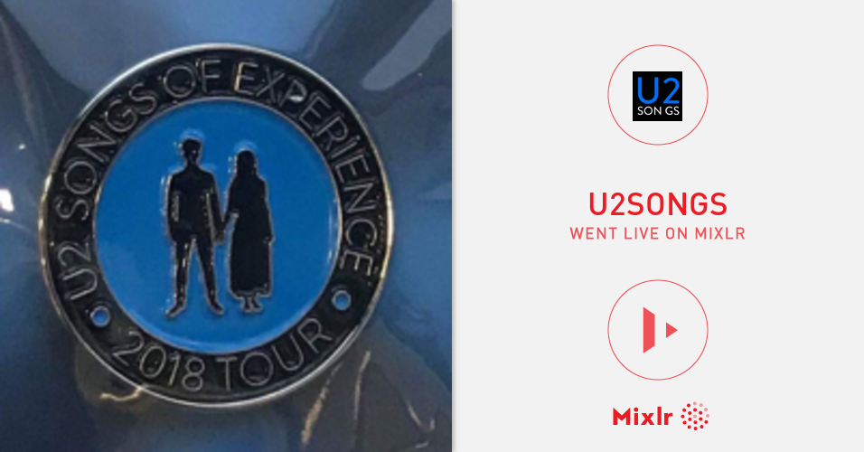 u2songs is on Mixlr  Mixlr is a simple way to share live audio onl